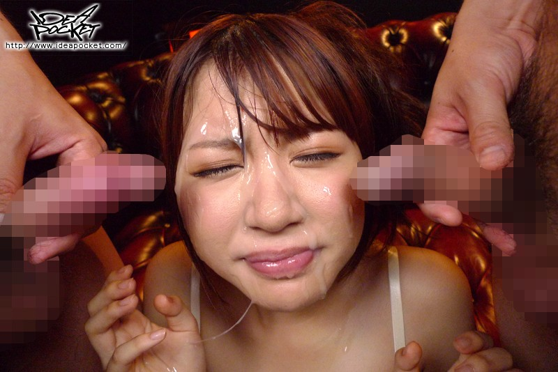 国民的アイドル 初顔射解禁!逢坂はるな動画6